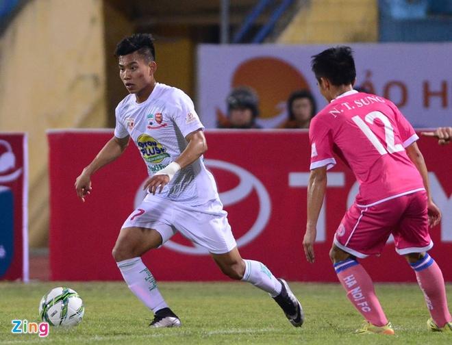 Thang Ha Noi 5-0, HAGL dan dau V.League hinh anh 14