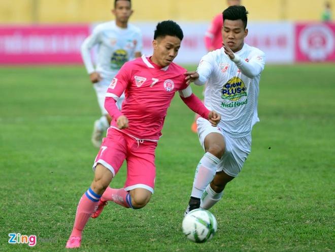 Thang Ha Noi 5-0, HAGL dan dau V.League hinh anh 6