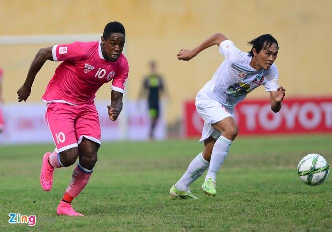 Thang Ha Noi 5-0, HAGL dan dau V.League hinh anh 7