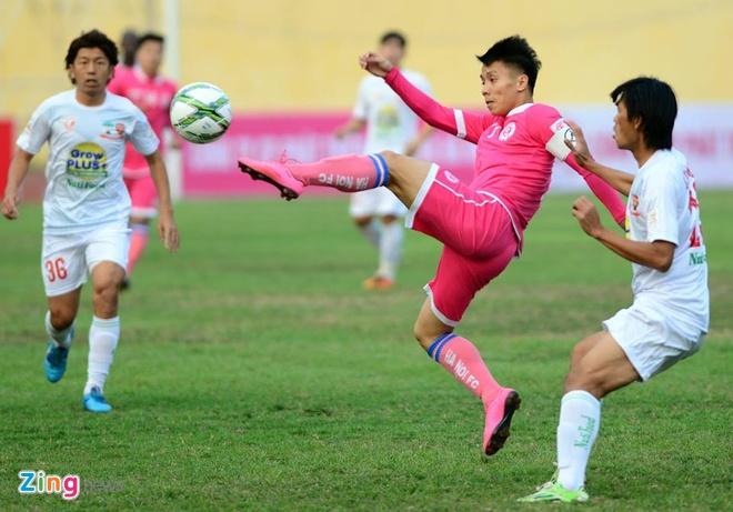 Thang Ha Noi 5-0, HAGL dan dau V.League hinh anh 8