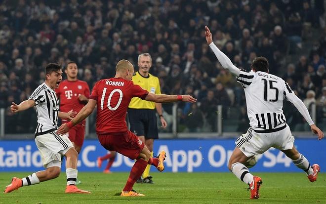 Dan truoc 2 ban, Bayern van de Juve cam hoa 2-2 hinh anh 7