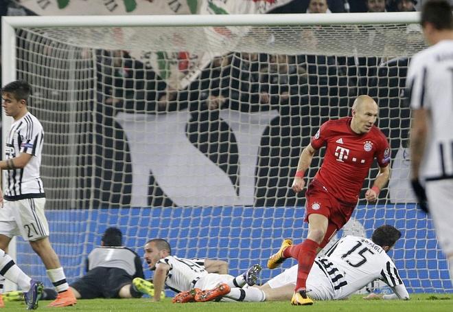 Dan truoc 2 ban, Bayern van de Juve cam hoa 2-2 hinh anh 8