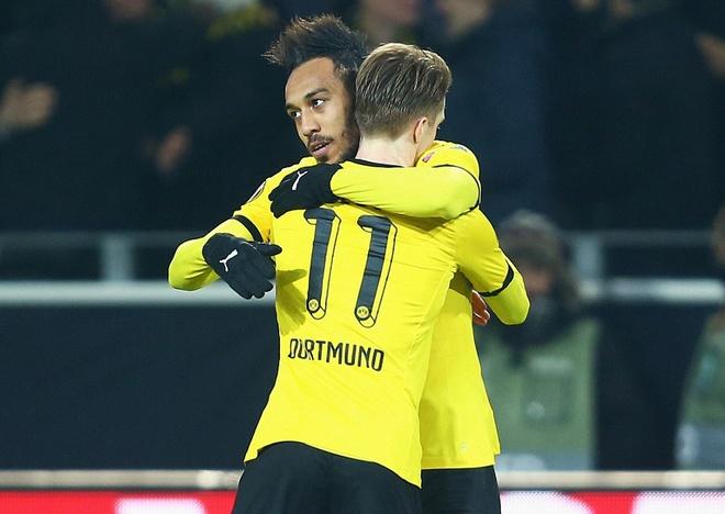 Dortmund thang dam Tottenham nho cu dup cua Reus hinh anh 1