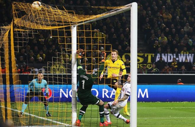 Dortmund thang dam Tottenham nho cu dup cua Reus hinh anh 6