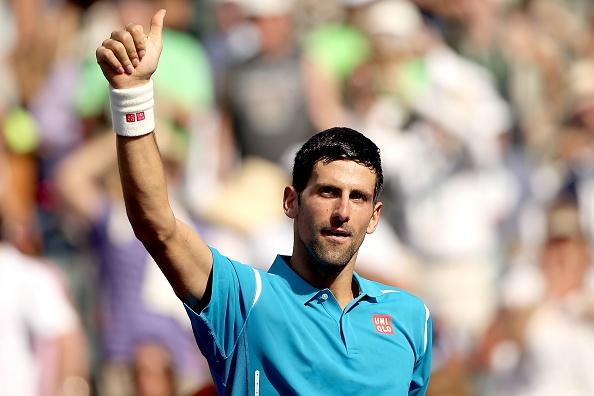 Djokovic ha Nadal, tien gan ky luc vo dich Indian Wells hinh anh 1