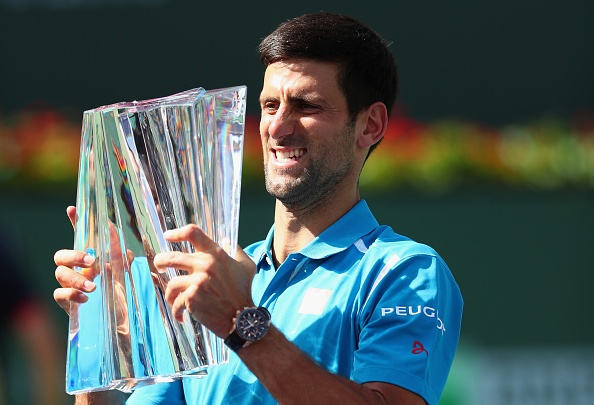 Djokovic lap ky luc vo dich Indian Wells hinh anh