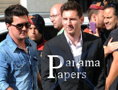 Messi va hang loat sao bong da dinh be boi Tai lieu Panama hinh anh
