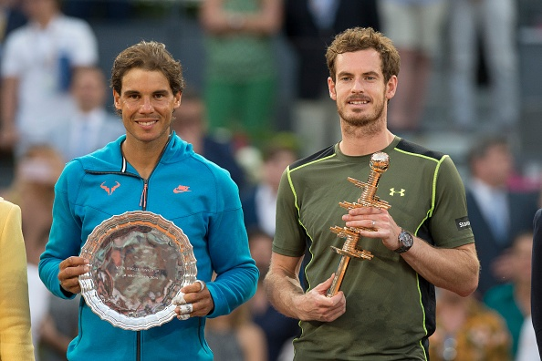 Nadal dai chien Murray o ban ket Madrid Open hinh anh