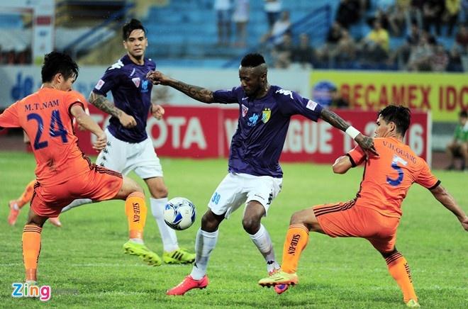 Thung luoi phut bu gio, Hai Phong thua tran dau tai V.League hinh anh 1