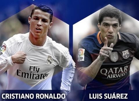 Messi, Neymar no luc giup Suarez danh bai Ronaldo hinh anh