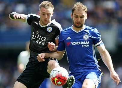 Chelsea vs Leicester (1-1): Vardy lo co hoi Vua pha luoi hinh anh