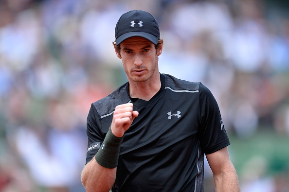 Highlights Andy Murray 3-2 Mathias Bourgue hinh anh