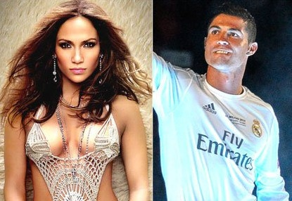 Ronaldo hat nhep cung Jennifer Lopez trong video ca nhac hinh anh