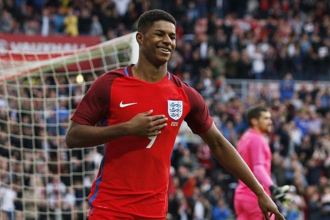 Vua bong da Pele giup Rashford tu tin o EURO 2016 hinh anh 1