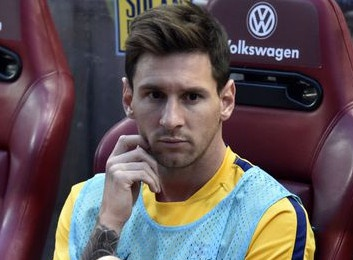 Messi ngoi du bi o tran ra quan cua Argentina hinh anh