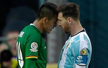 Argentina vs Bolivia (3-0): Messi va doi thu huc dau hinh anh