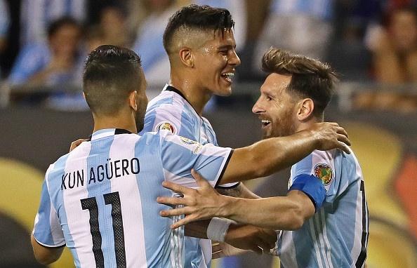 Lich thi dau va ket qua Copa America: Argentina de tho hinh anh