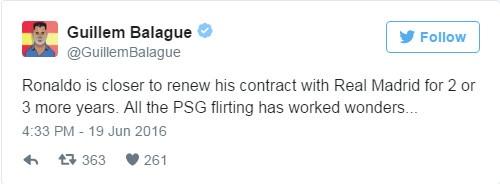 Chuyen nhuong 19/6: Ronaldo khien MU, PSG mung hut hinh anh 12