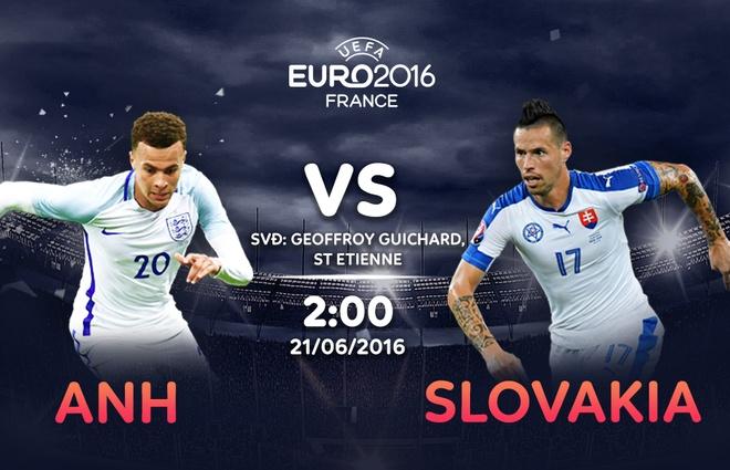 Anh vs Slovakia: Tam su quyet giu ngoi dau hinh anh