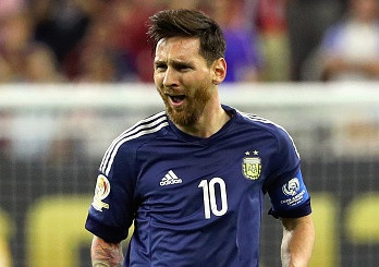 My vs Argentina (0-4): Messi lap sieu pham de pha ky luc hinh anh