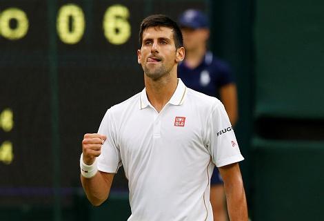 Djokovic lap ky luc o vong 3 Wimbledon hinh anh