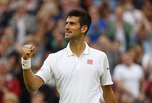 Djokovic lap ky luc o vong 3 Wimbledon hinh anh 1