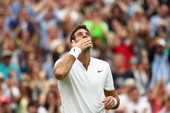 Del Potro bat ngo ha Wawrinka o vong 2 Wimbledon hinh anh