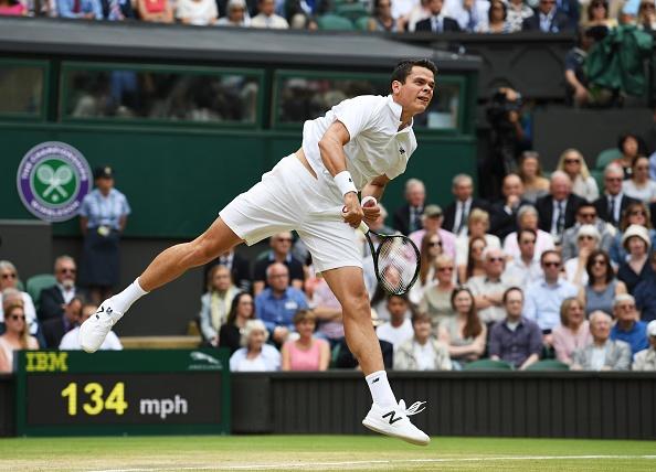 Thua dau Raonic, Federer lo co hoi vang vo dich Wimbledon hinh anh 9