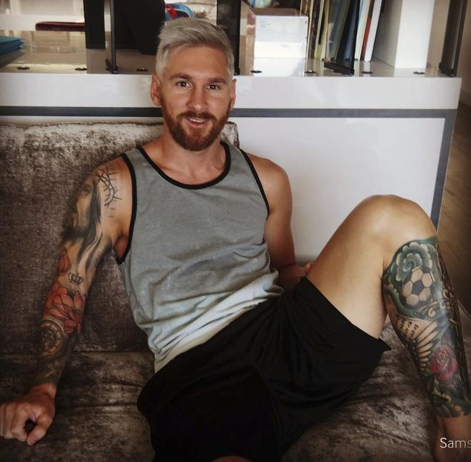 Messi trinh lang kieu toc bach kim hinh anh 1