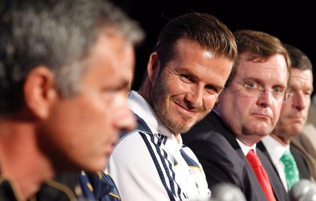 Beckham tin Mourinho se giup MU tro nen dang so hinh anh 1