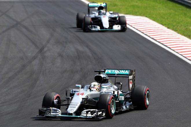 Vo dich Hungarian GP, Hamilton vuot Rosberg tren BXH tong hinh anh 5
