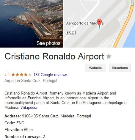 San bay mang ten Ronaldo nguy hiem bac nhat chau Au hinh anh 1