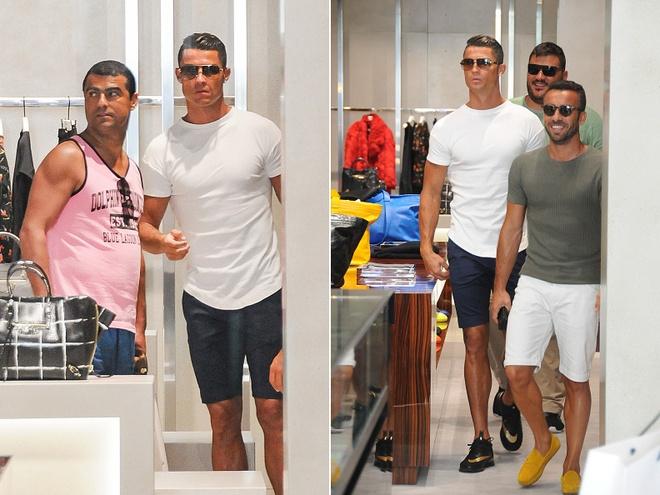 Ronaldo cham mat 'nguoi van chuyen' hinh anh 4