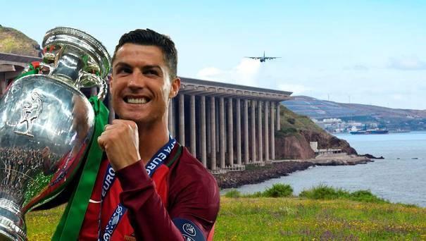 Su nguy hiem cua san bay mang ten Ronaldo hinh anh