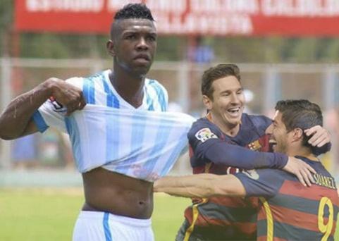 Da hong penalty vi bat chuoc Messi va Suarez hinh anh