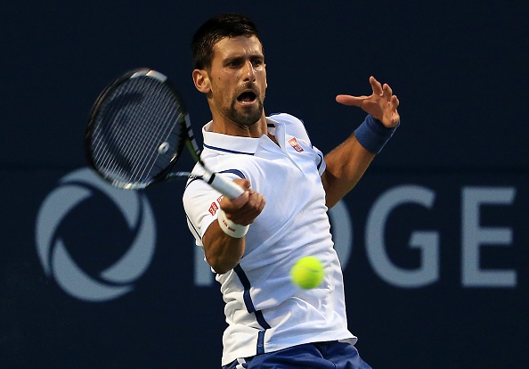 Djokovic doi dau Nishikori o chung ket Rogers Cup hinh anh