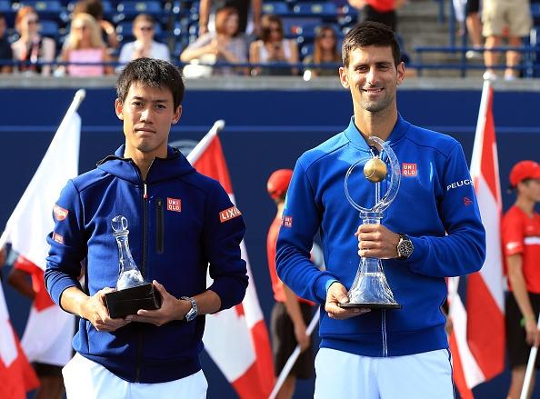 Highlights Djokovic 2-0 Nishikori hinh anh