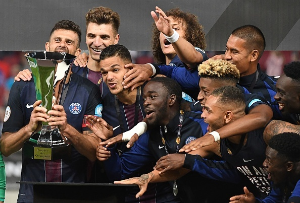 Sieu cup Phap: PSG 4-1 Lyon hinh anh