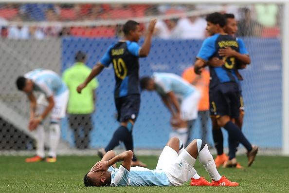 U23 Argentina bi loai, Han Quoc gay an tuong manh hinh anh 1