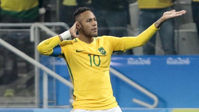 Neymar sut phat dang cap, Brazil gianh ve vao ban ket hinh anh