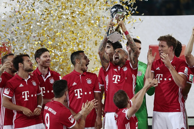 Ancelotti gianh chiec cup dau tien cung Bayern hinh anh