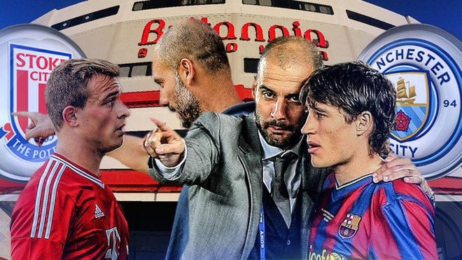 Aguero, Nolito lap cu dup, Man City vuot mat MU hinh anh 2