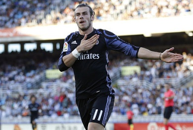 Gareth Bale lap cu dup, Real thang dam tran ra quan hinh anh