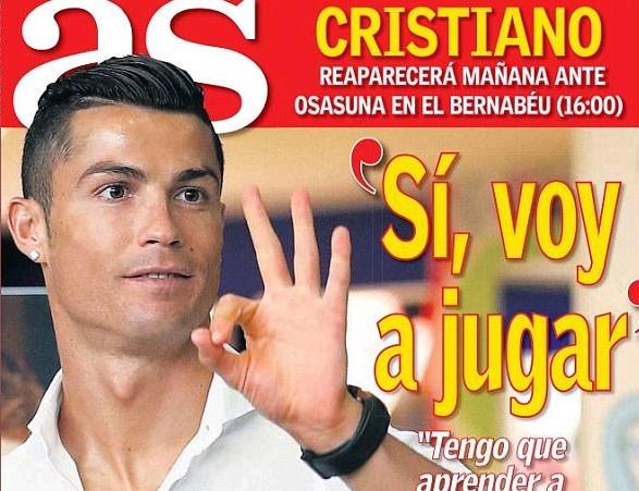 Ronaldo duoc phep thi dau 60 phut cuoi tuan nay hinh anh 1
