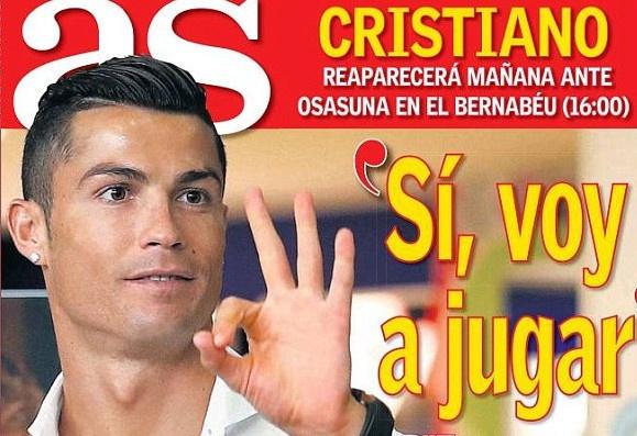 Ronaldo duoc phep thi dau 60 phut cuoi tuan nay hinh anh