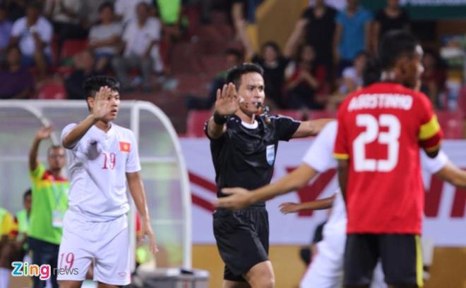 Thang dam U19 Timor Leste, U19 Viet Nam len dau bang hinh anh 5