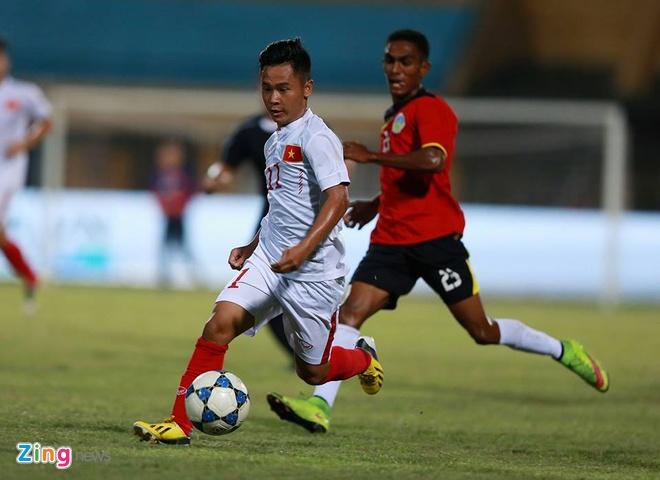 Thang dam U19 Timor Leste, U19 Viet Nam len dau bang hinh anh 8