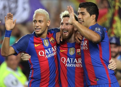 Messi lap hat-trick giup Barca vui dap Celtic 7-0 hinh anh