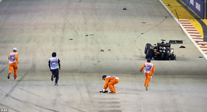 Rosberg dang quang, Hulkenberg dinh tai nan nat xe hinh anh 10