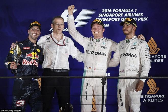 Rosberg dang quang, Hulkenberg dinh tai nan nat xe hinh anh 4